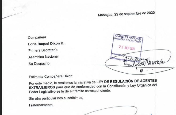 Ortega crea polvorín con ley de regulación de agentes extranjeros y llueven reacciones